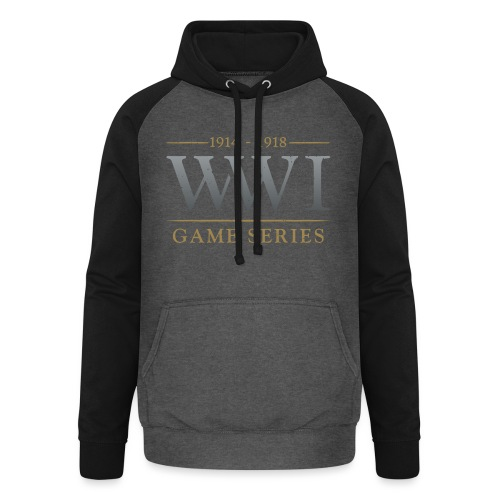 WW1 Game Series Logo - Unisex baseball hoodie