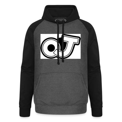 OJ_logo - Unisex baseball hoodie