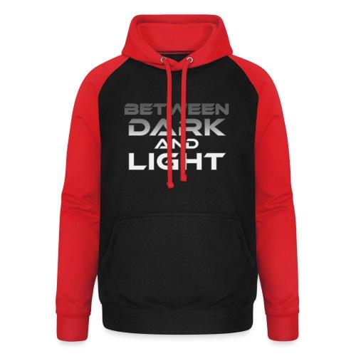 Between Dark And Light - Unisex baseball-huppari