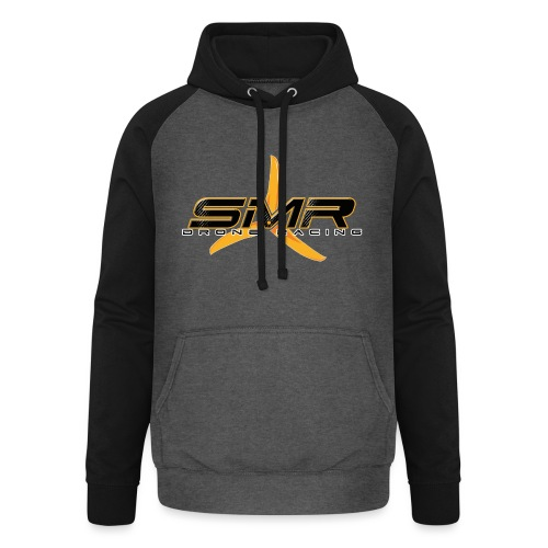 SMR Black - Sweat-shirt baseball unisexe