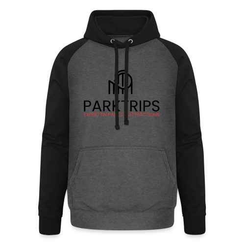 Park Trips - Coaster On Top - Sweat-shirt baseball unisexe
