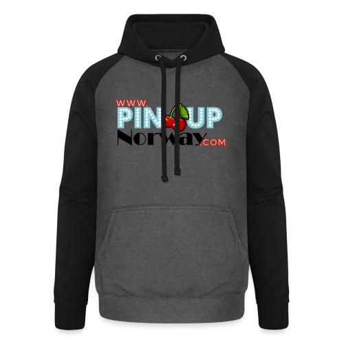 www.pinupnorway.com - Unisex baseball-hettegenser