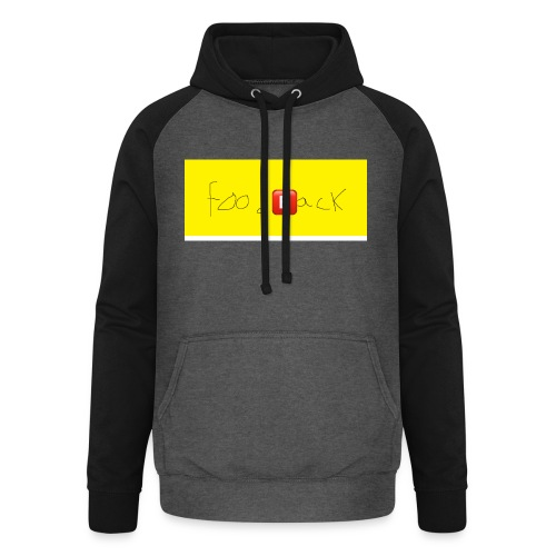 FOODBACK - Unisex baseball hoodie