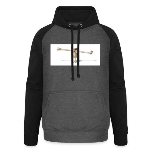 Tough Guy - Unisex baseball hoodie