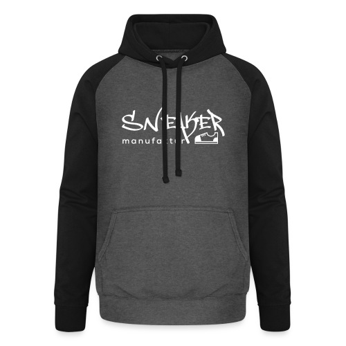 Sneakermanufaktur Linz - black edition - Unisex Baseball Hoodie