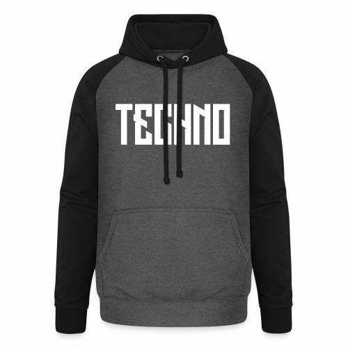 Techno_V5 - Unisex Baseball Hoodie