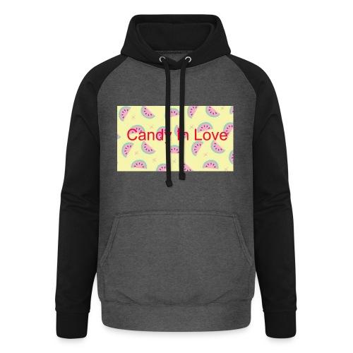 Merchandise Candy In Love - Unisex baseball hoodie