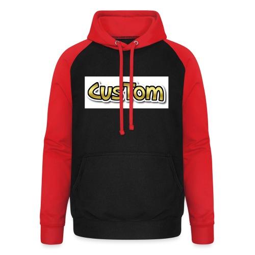 CusTom GOLD LIMETED EDITION - Unisex baseball hoodie