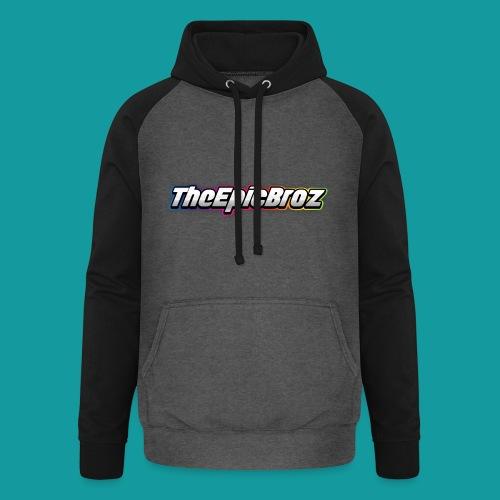 TheEpicBroz - Unisex baseball hoodie
