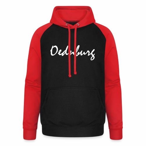 Oednburg Wit - Unisex baseball hoodie