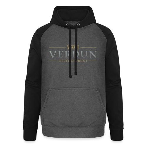 New Verdun Official Logo - Unisex baseball hoodie