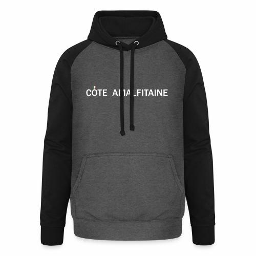 Côte Amalfitaine - Sweat-shirt baseball unisexe
