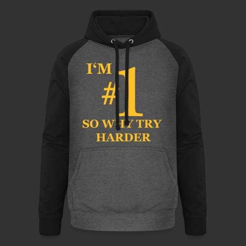 T-shirt, I'm #1 - Basebolluvtröja unisex