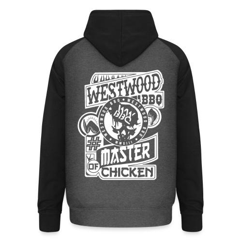 Westwood BBQ Master of Chicken - Unisex Baseball Hoodie