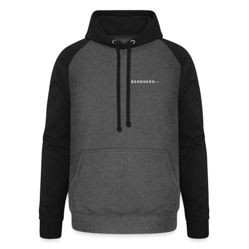 BONDHERO - Unisex baseball hoodie