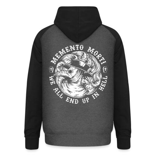 HELL apparel | MEMENTO MORTI | 2019 - Unisex Baseball Hoodie