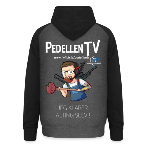 pedellentv - Unisex baseball hoodie