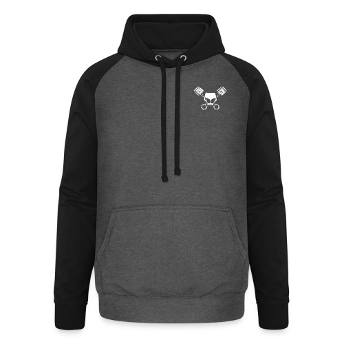 MWD LOGO NY NO T G - Unisex baseball hoodie