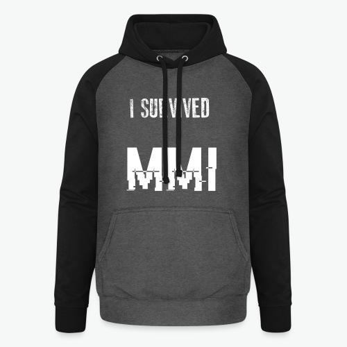 MMI survivor alternative - Sweat-shirt baseball unisexe
