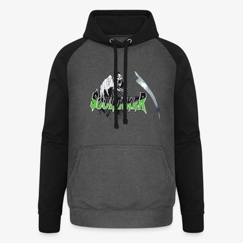 Soultaker3 - Sweat-shirt baseball unisexe