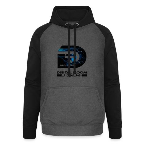Digital Room Records Official Logo effect - Unisex Baseball Hoodie