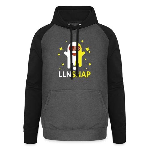 Fantôme astronaute (LLNsnap) - Sweat-shirt baseball unisexe