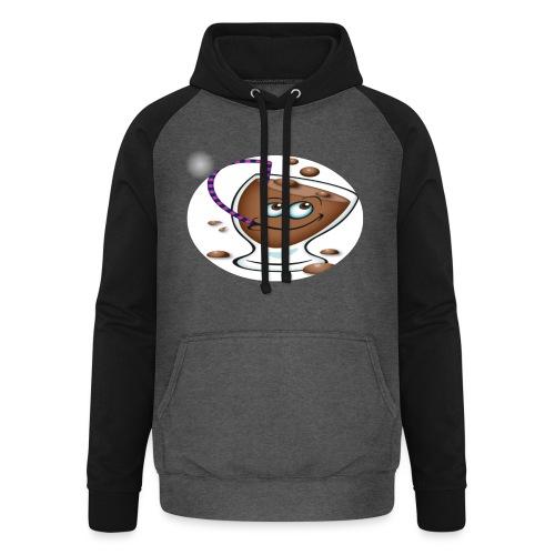 chocolate - Unisex baseball hoodie