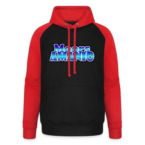 MoorsAmanioLogo - Unisex baseball hoodie