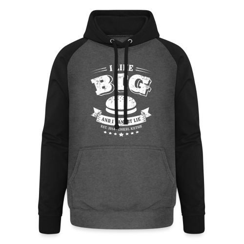 I Like Big Buns Shirt - Unisex Baseball Hoodie