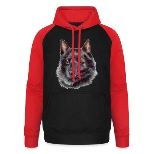 schipperke - M - Unisex baseball hoodie