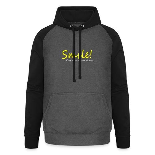 Smile for Sex - Unisex Baseball Hoodie