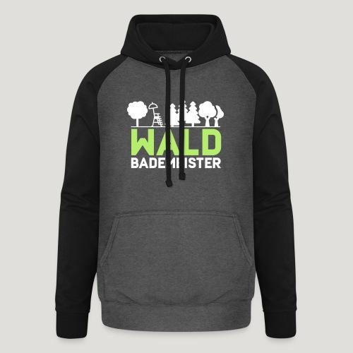 Waldbademeister für das Waldbaden im Waldbad - Unisex Baseball Hoodie
