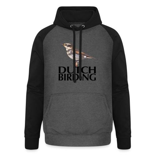 DB Bruinelijster - Unisex baseball hoodie