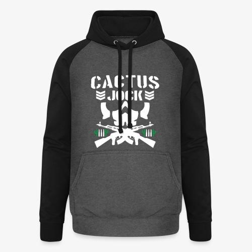 Cactus Jock - Unisex Baseball Hoodie