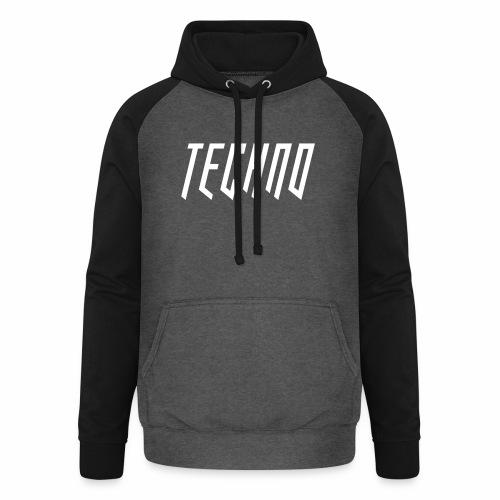 Techno_2019_V6 - Unisex Baseball Hoodie