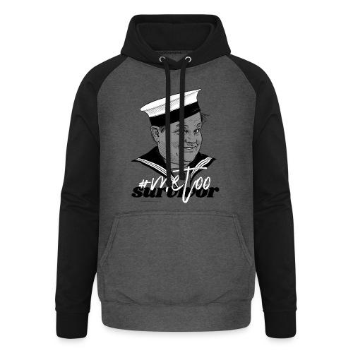 #metoo survivor - Unisex baseball hoodie