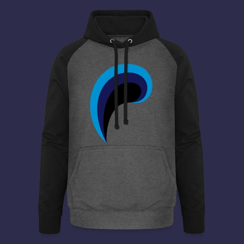 POLIEXA Entertainment Symbol - Unisex Baseball Hoodie