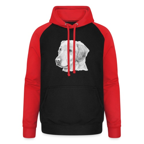 Golden retriever 2 - Unisex baseball hoodie