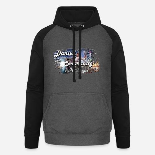 Dansih community - fivem2 - Unisex baseball hoodie
