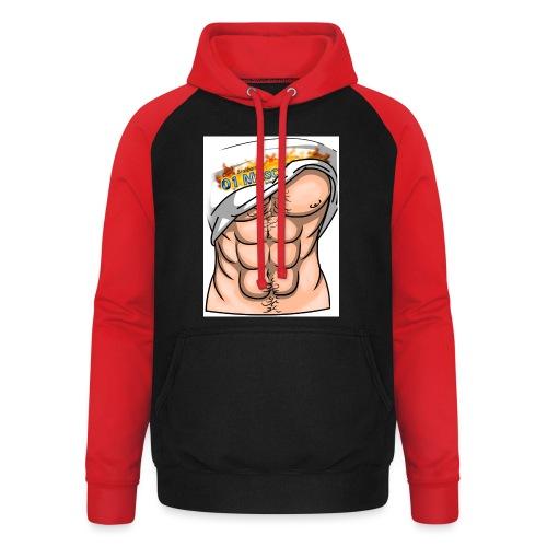 Abdominaux - Sweat-shirt baseball unisexe
