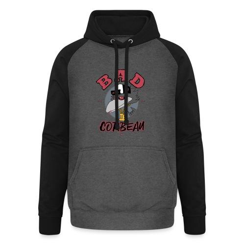 BAD CORBEAU - Sweat-shirt baseball unisexe