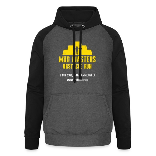 tshirt front - Unisex baseball hoodie