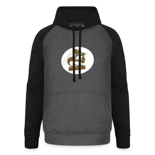 Droove logo - Unisex baseball hoodie