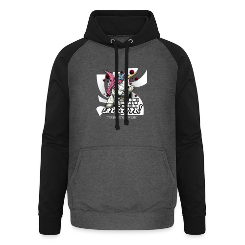 Don't mess up with the unicorn - Unisex Baseball Hoodie