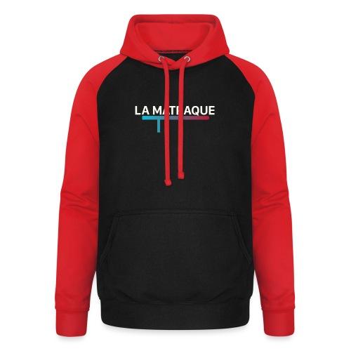 LA MATRAQUE. - Sweat-shirt baseball unisexe