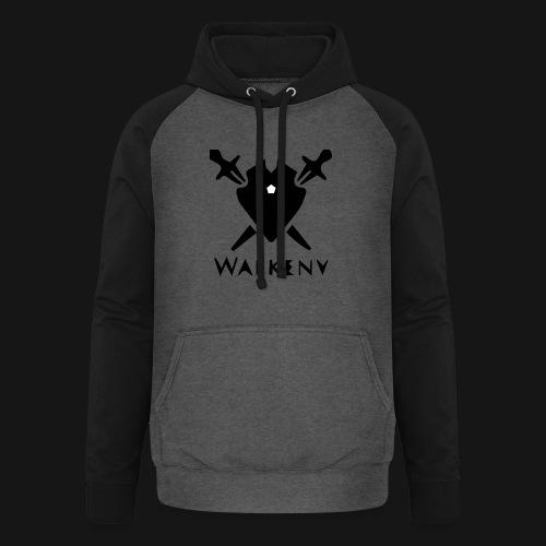 Walkeny Schwert Logo! - Unisex Baseball Hoodie