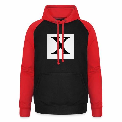 THE X - Unisex Baseball Hoodie
