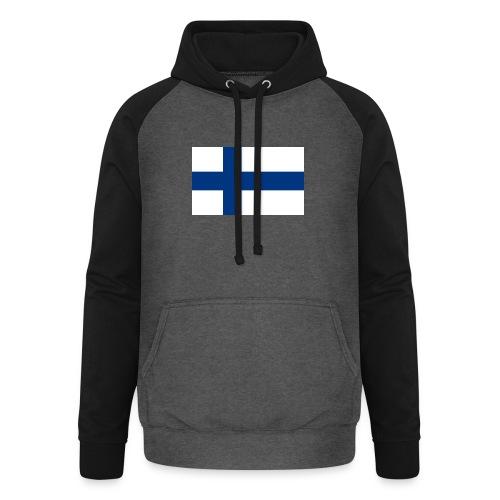 800pxflag of finlandsvg - Unisex baseball-huppari