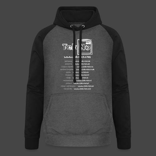 tekno23 - Sweat-shirt baseball unisexe