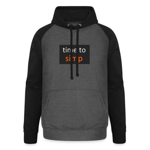 simping time - Unisex baseball hoodie